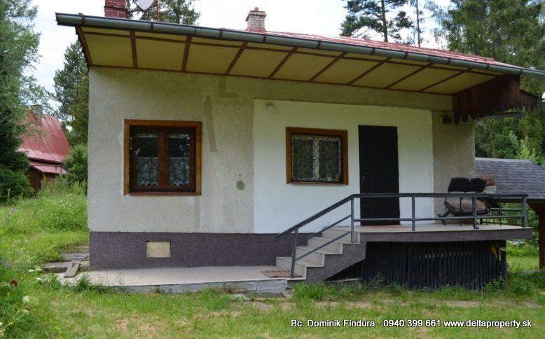 Rekreačná chata-Predaj-Smižany-63 000 €