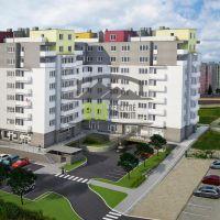2 izbový byt, Trenčín, 61.21 m², Novostavba