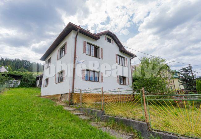 PREDANÉ: Rodinný dom v centre obce, 180 m2, Čierny Balog, Závodie