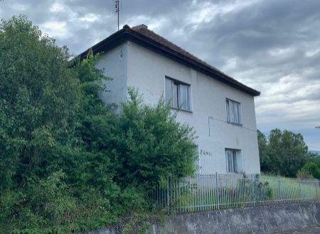 Na predaj rodinný dom Malé Kršteňany
