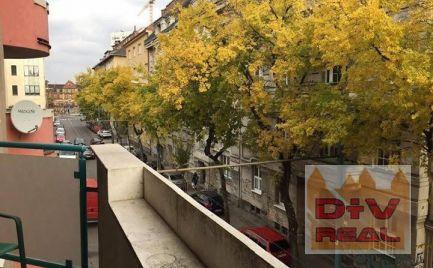 2i byt, Kýčerského ulica, Bratislava I, Staré Mesto, zariadený, balkón, priestranný, na prenájom