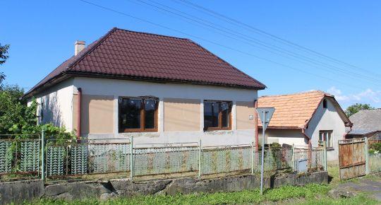 Predám rodinný dom v obci Trebeľovce,okres Lučenec
