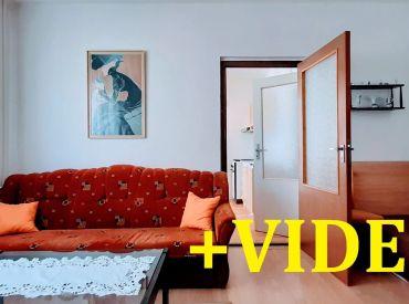 ViP Video. Prenájom - Byt 1+1, 38 m2 s loggiou, atypický, zariadený - Banská Bystrica - Sásová