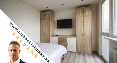 PREDANÝ: Kompletne zariadený 1 izbový byt s loggiou, Košice - Terasa