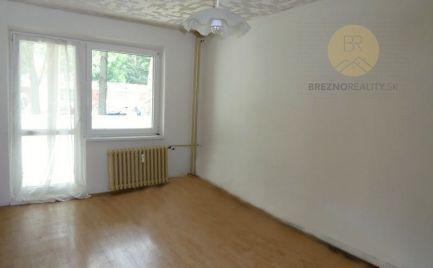 3iz byt po čiastočnej rekonštrukcii, 61 m2 - Brezno