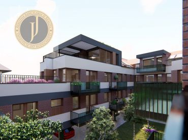 2 izbový byt s terasou v rezidencii AMBRIS  v centre mesta Trnava