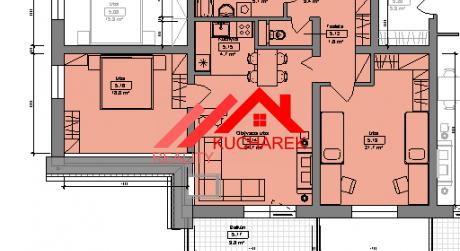 Kuchárek-real: Ponuka 3 izbového bytu v novostavbe Pezinok- Muškát.D6-503