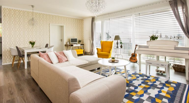 Nádherný 3 izbový byt na Kolibe s veľkými balkónmi a výhľadom na Bratislavu