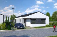 Kostolište (Malacky): Novostavba 4-izbového bungalovu