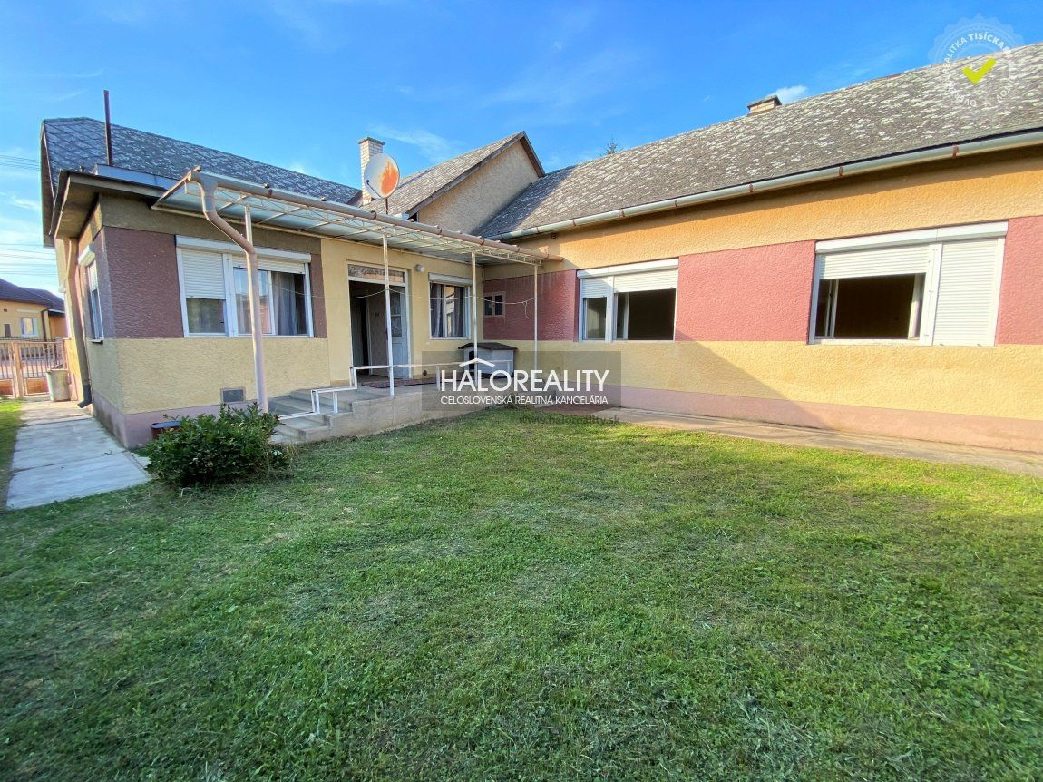 Predaj, rodinný dom Včelince - ZNÍŽENÁ CENA - EXKLUZÍVNE HALO REALITY