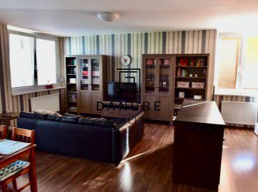 Exkluzívne na predaj 4 izbový mezonetový byt s garážovým státím a pivničnou kobkou v projekte Koloseo, Bratislava-Nové Mesto.