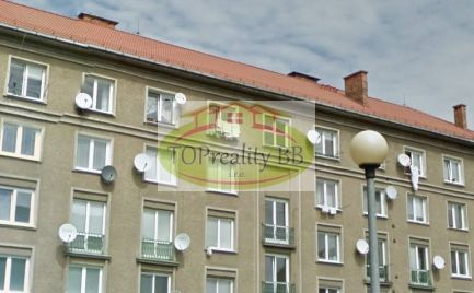 ZĽAVA !!  -  Tehlový byt 3 izbový , 61 m2, Banská Bystrica - sídlisko v  rekonštrukcii – cena 133 000€