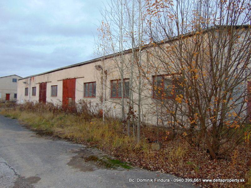 Skladový objekt-Predaj-Markušovce-65000.00 €