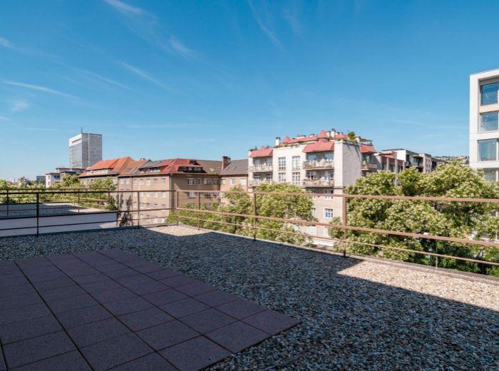 VAJNORSKÁ, 1-i byt, 54 m2 – KOMPLETNÁ rekonštrukcia, KLIMATIZÁCIA, tehla, TERASA
