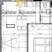 2 izbový byt, Banská Bystrica, 36 m², Pôvodný stav