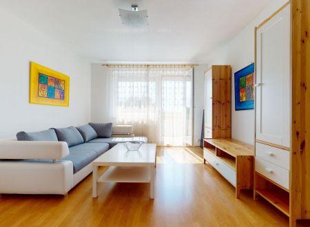 Príjemný 2 izbový byt, 54 m2 + garáž, E. Belluša, Piešťany