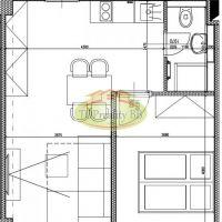 2 izbový byt, Banská Bystrica, 37 m², Kompletná rekonštrukcia