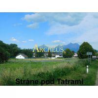 Pre rodinné domy, Stráne pod Tatrami, 918 m²