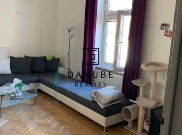 Prenájom veľký 1-izbový byt v Bratislave-Starom meste na Palárikovej ulici.