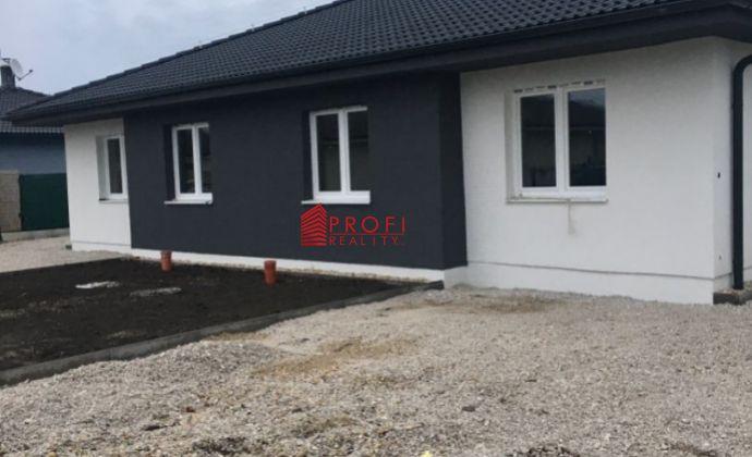 Na predaj novostavba 4- izbovy rodinný dom v Dolnom Bare