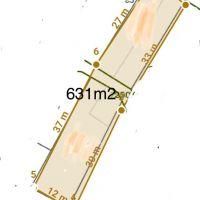 Pre rodinné domy, Pernek, 631 m²
