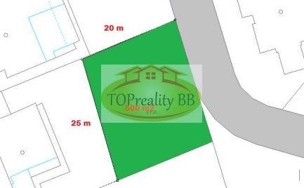 Top ponuka - Slnečný stavebný pozemok 500 m2, pre náročného klienta, Banská Bystrica – cena 98 000€