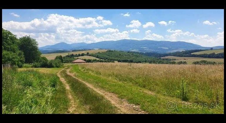 Čelovce okr.Prešov na predaj pozemok vhodný aj na výstavbu rodinných domov