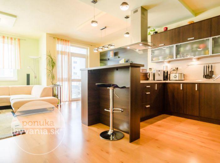 PREDANÉ - AGÁTOVÁ, 3-i byt, 83 m2 – zeleň a ticho, KOMPLETNE ZARIADENÝ, blízko do lesa
