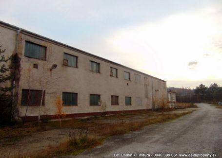 DELTA - Výrobná hala s administratívnou budovou na predaj Markušovce