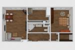 2 izbový byt - Bratislava-Karlova Ves - Fotografia 6