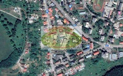 Rodinný dom s pozemkom 592 m2, blízko centra mesta B. Bystrica, vhodný aj na podnikateľské účely - Cena 250 000€