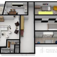 4 izbový byt, Bratislava-Dúbravka, 137 m², Novostavba