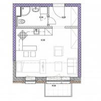1 izbový byt, Podbrezová, 31 m², Novostavba