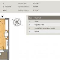 1 izbový byt, Biely Kostol, 1 m², Novostavba