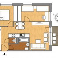 3 izbový byt, Biely Kostol, 1 m², Novostavba