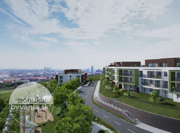 PREDANÉ - GRAND KOLIBA rezidencie – 4-i byt, 153 m2 - technologický NADŠTANDARD, DVE TERASY, výhľad na mesto