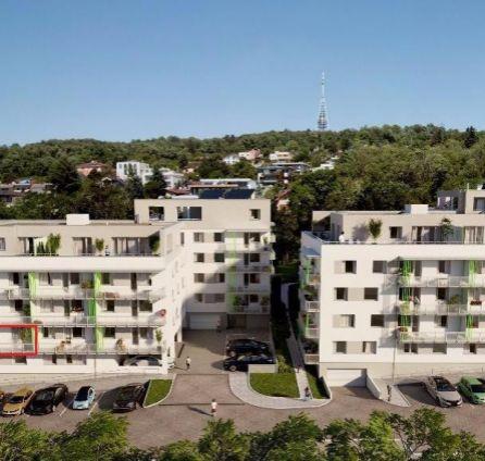 2 izb. byt, novostavba - Nová Vlárska, Kramáre, dokončenie v štadnarde