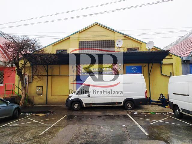 Skladový objekt-Predaj-Bratislava - mestská časť Nové Mesto-230000.00 €
