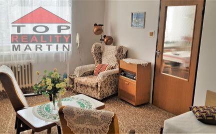 EXKLUZÍVNE 4-i byt s krbom, dvomi pivnicami, dvomi loggiami a murovanou garážou v centre Martina, 108 m2