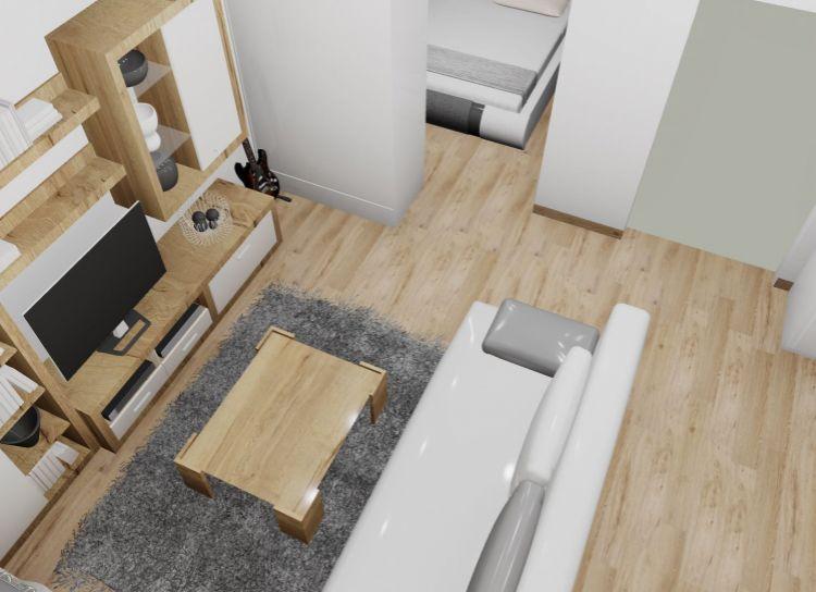 PodB : Na predaj 1 izbový byt B, v novom projekte