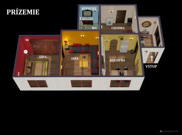 REZERVOVANÝ.ViP Video. 250 ročný Rodinný dom 4+2 - Kremnica