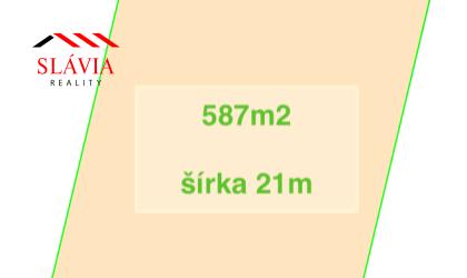 REZERVOVANÉ Pozemok Motešice 587m2 na predaj