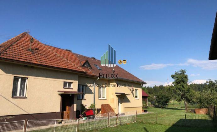 Liptov Nízke Tatry Podtureň predaj 4 izbového rodinného domu s príslušenstvom a pozemkami o výmere 1 669 m2