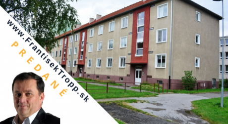 REZERVOVANÉ, 3 izbový byt na predaj, Svit, ul. Štefánikova s balkónom