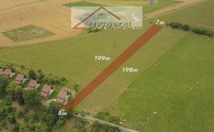 Znížená cena-Predaj pozemku 1374 m2, Liptovský Trnovec