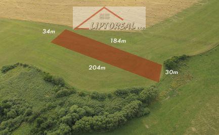 Predaj pozemku 6030 m2, Liptovský Trnovec