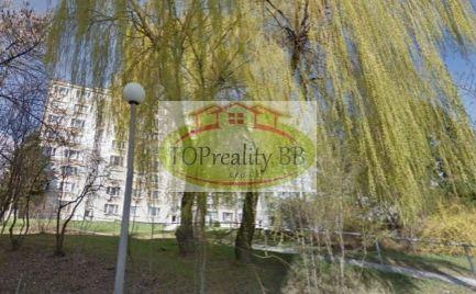 Veľký 2 izbový byt , 65 m2, s lodžiou,  ZV typ, B. Bystrica,  Fončorda - po rekonštrukcii – cena 112 000 €