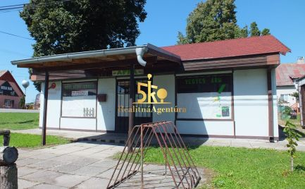 Podnikateľský objekt v obci Kameničná