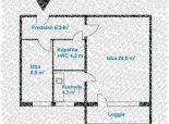 2 izb. byt, PODZÁHRADNÁ ul., zrekonštr. podľa Vašich predstáv