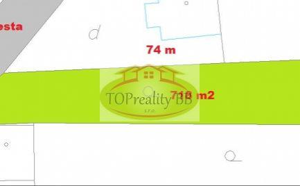 Stavebný pozemok 718 m2,  v Nízkych Tatrách pod Chopkom -  Cena 18 000 €